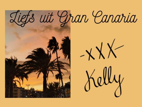 Een kaartje uit Gran Canaria