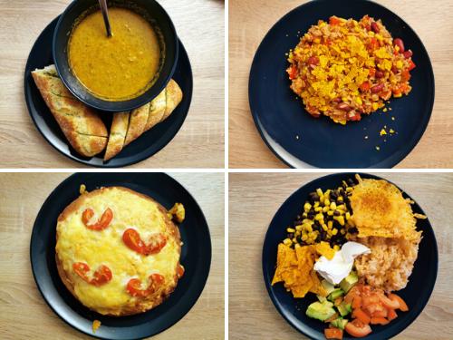 simpele gerechten
