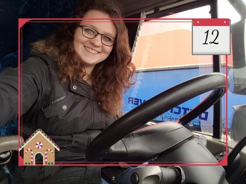 Bij Zus' adventskalender 2019 Dag van de vrachtwagenchauffeur