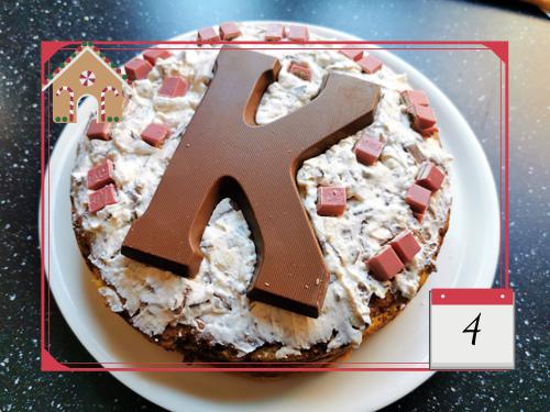 Bij Zus' adventskalender '19 Sinterklaas taart of kerst taart recept