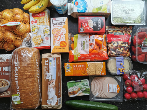 Onze boodschappen #2 vooral heel veel groente en fruit
