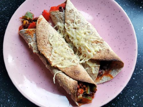 Turkse groente-kebab