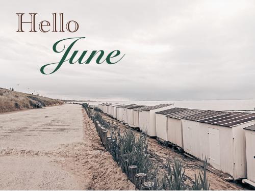 We beginnen juni op een positieve manier