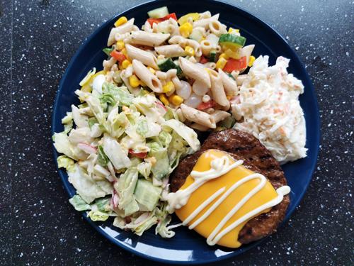 Ons avondeten #11 leftover gerechten, wraps en krieltjes