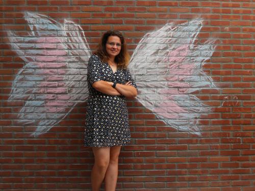 Van een vest naar een jurkje – column over zelfbeeld