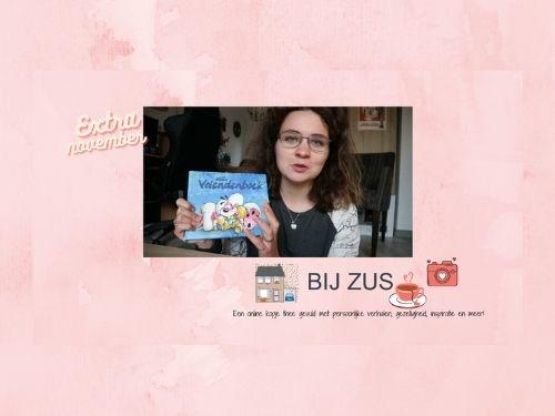 Bij Zus vlogt! Mijn 19 jaar oude vriendenboekje opnieuw invullen
