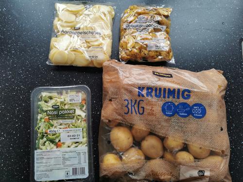 aardappelen groente