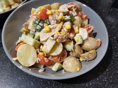 nacho salade