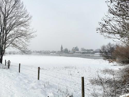 &Zus update #6 eerste keer post bezorgen in de sneeuw