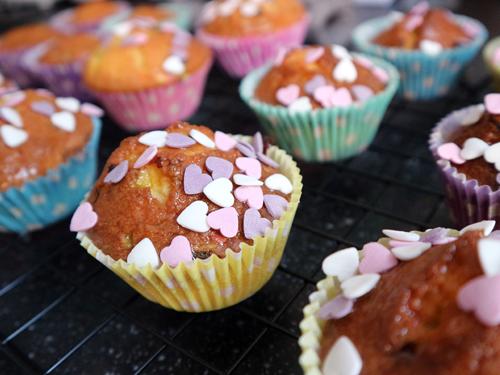 Valentijns cupcakea