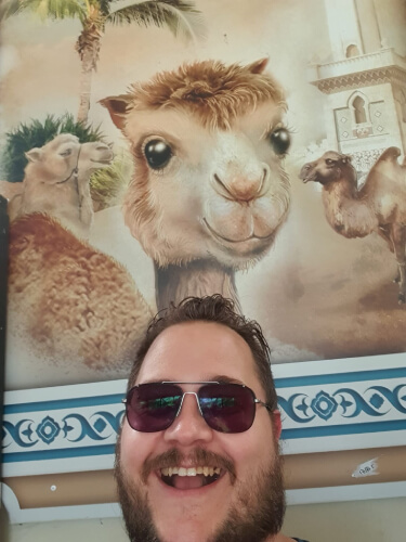 Efteling Kenneth kamelen